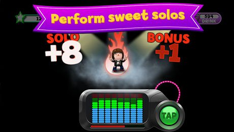 Screenshot perform sweet solos