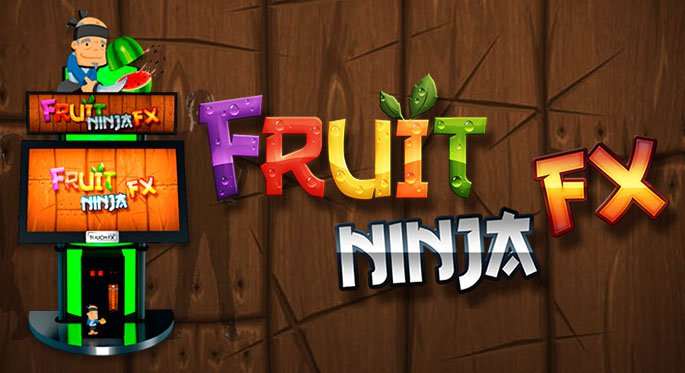 Fruit Ninja FX Brought A Blast Of Excitement To The Arcade World With Juicy  Fruit Slicing Action For 1 3 Players. The Arcade Units, Created By  Adrenaline ...