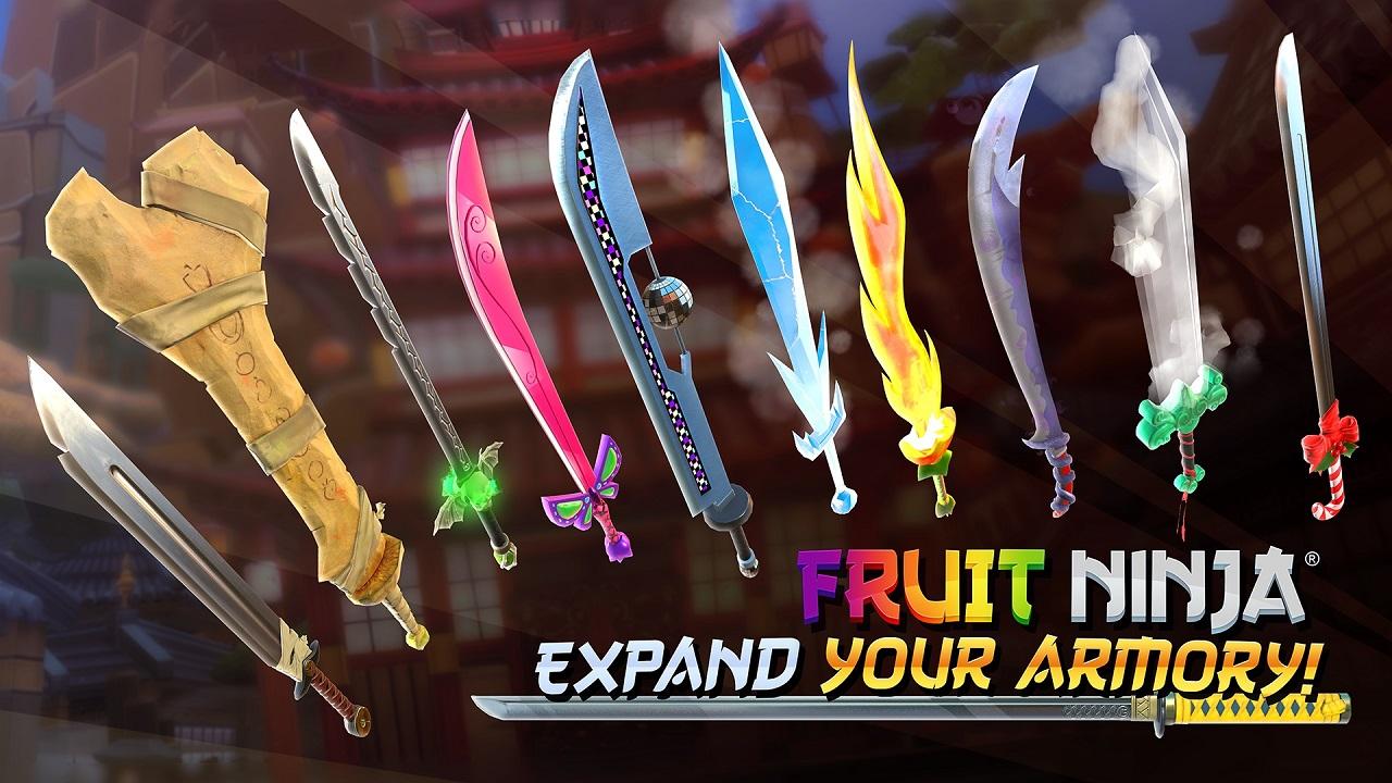 Скриншот *Fruit Ninja VR [PS4] 5.05 / 6.72 [EUR] (2016) [Русский/Английский] (v1.02)*