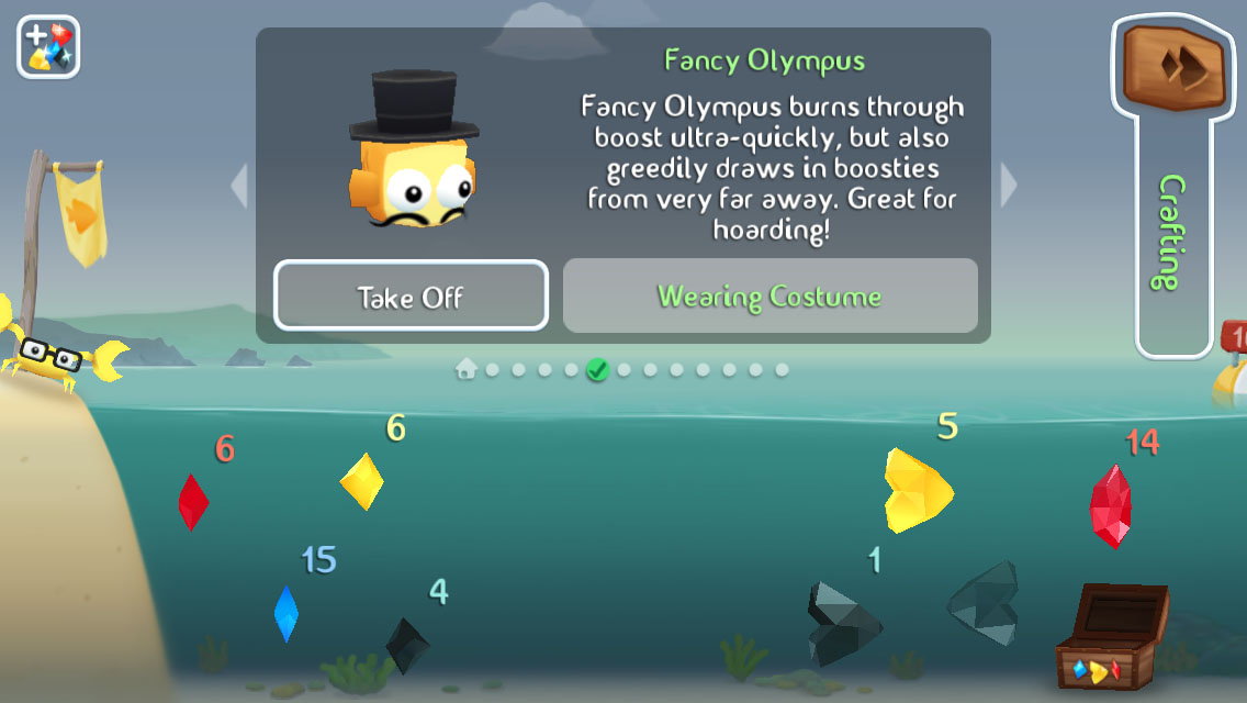 Fish out of water halfbrick studios halfbrick studios for Gold fish game