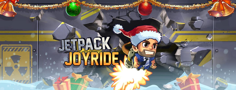 Get festive with Jetpack Joyride! - Halfbrick Studios Halfbrick Studios