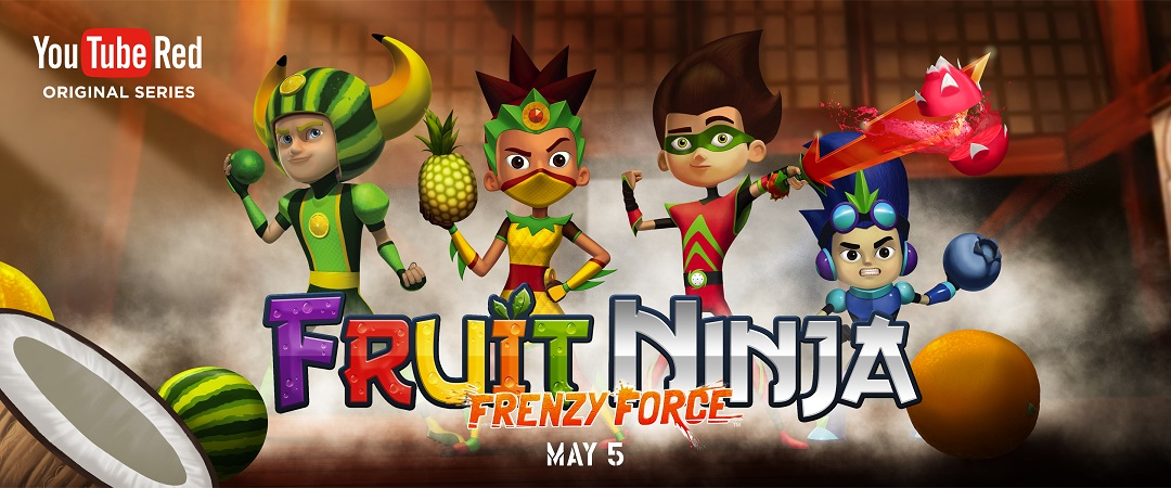 YouTube Red - Fruit Ninja Frenzy Force S1 E10 720p W/Subs