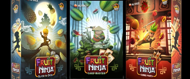 Fruit Ninja Kickstarter Boxes