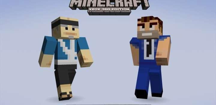 Minecraft Xbox Edition Skin Pack Halfbrick Studios - Minecraft skins fur xbox 360